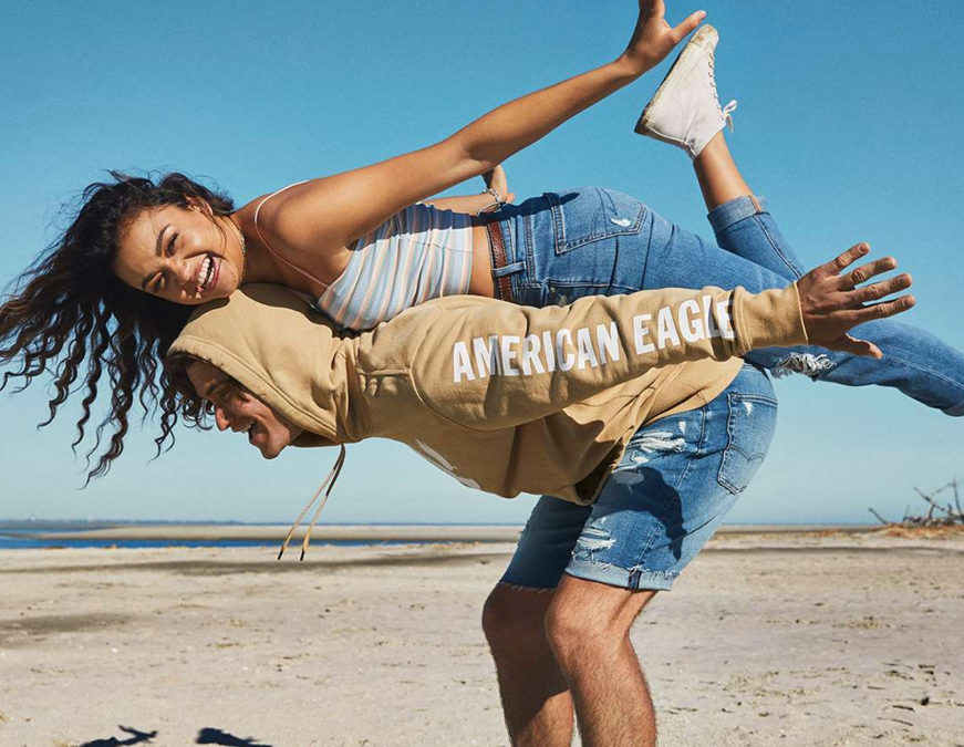 Denim's new cycle, a thriving tops business and opportunities to reach an older demographic have American Eagle charged up for fall.