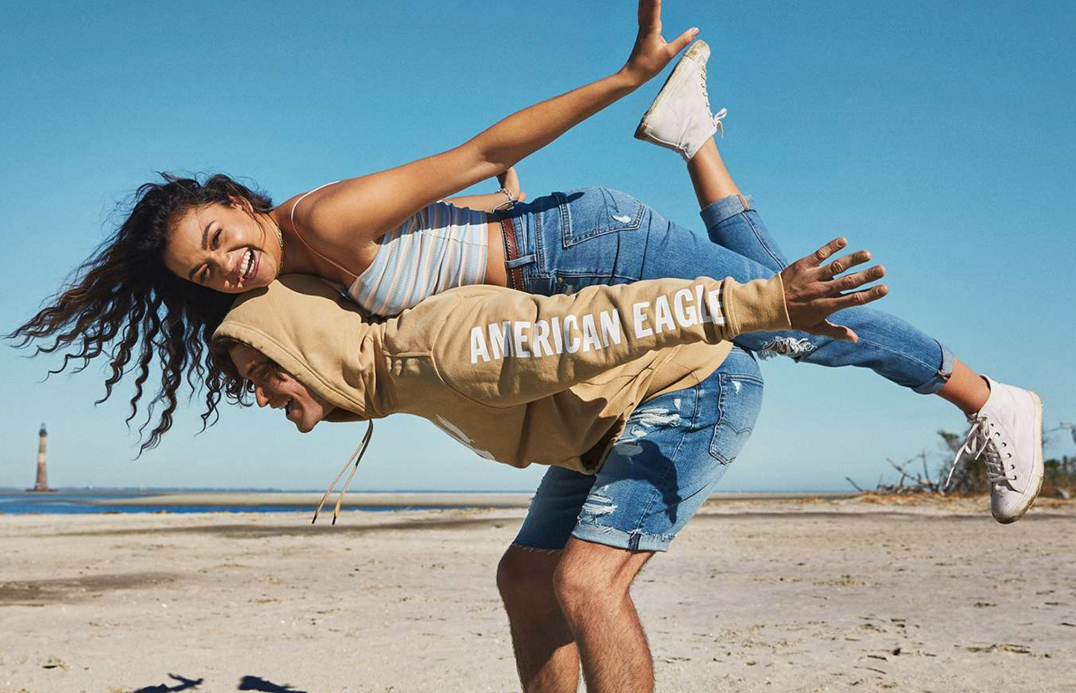 Youth-centric chain American Eagle Outfitters guides Q1 sales past $1 billion due to pent-up demand, consumer optimism and stimulus checks.