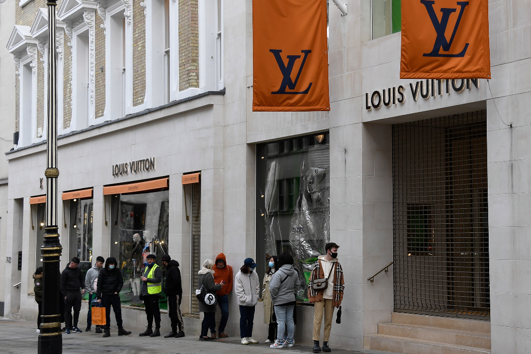 LVMH's Q1 sales gains were helped by increases in most of its business operations, including 51% growth in fashion and leather goods.