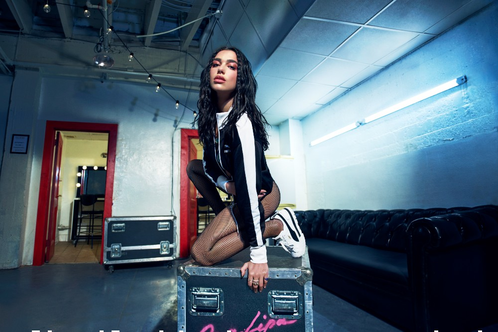 Puma tapped Dua Lipa to lead the campaign for its new Mayze sneaker