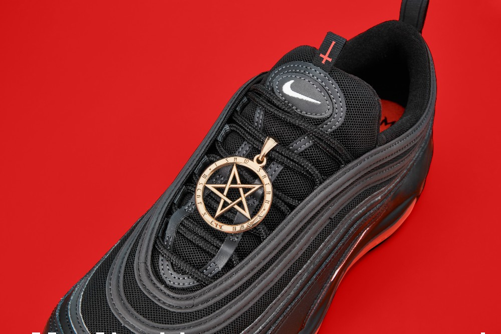 MSCHF used Nike Air Max 97s to create its Satan Shoes.