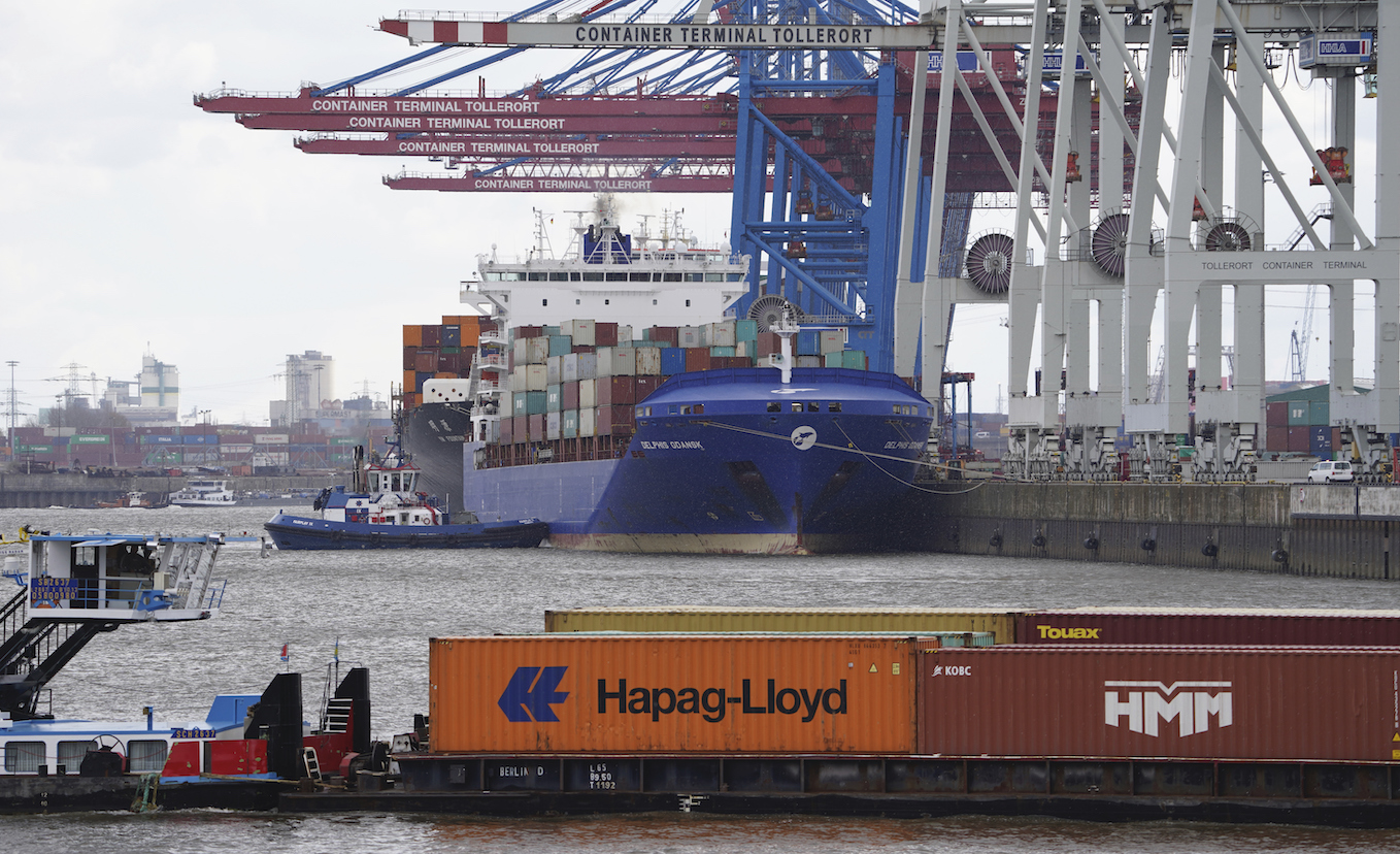 While moving shipping containers from Asia to Europe can be costly, many retailers have waited for rates to drop instead of rerouting.