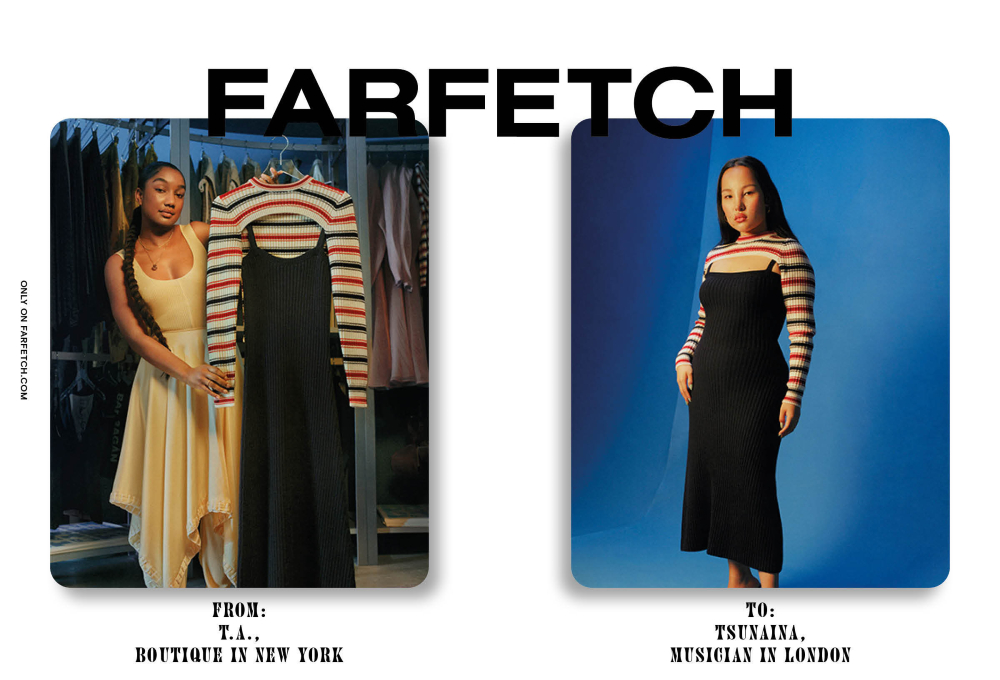 Farfetch's new The Perfect Match #onlyonfarfetch campaign spotlights six global boutiques and the fashion-loving creatives who shop there.