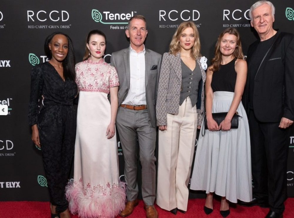 Following the success of their 2020 partnership, Red Carpet Green Dress and Lenzing Tencel have extended their Oscars collaboration.