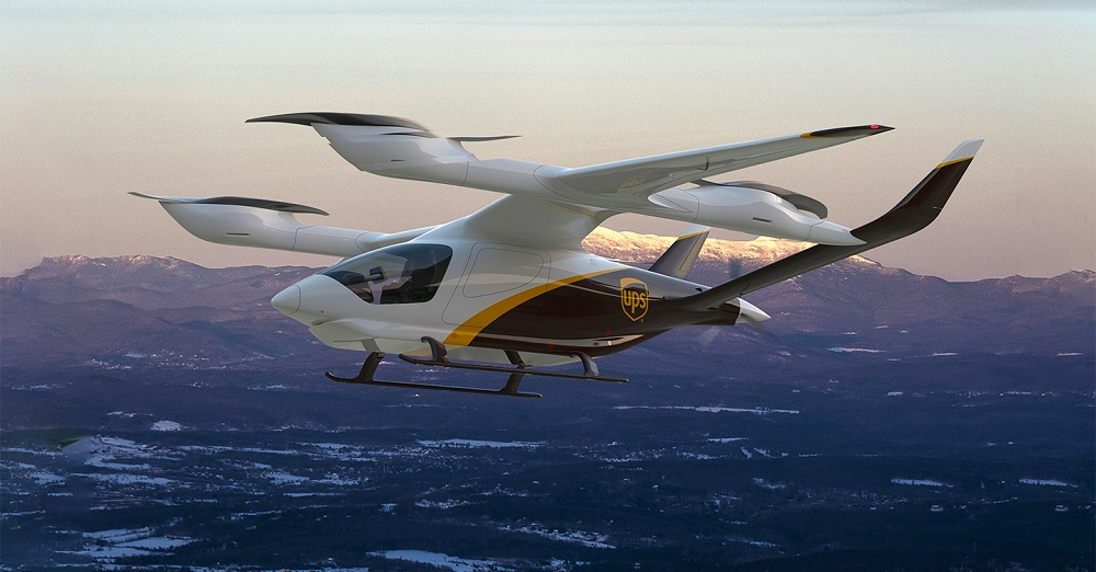 UPS plans to purchase electric vertical takeoff and landing (eVTOL) aircraft from Beta Technologies as part of its innovation strategy.