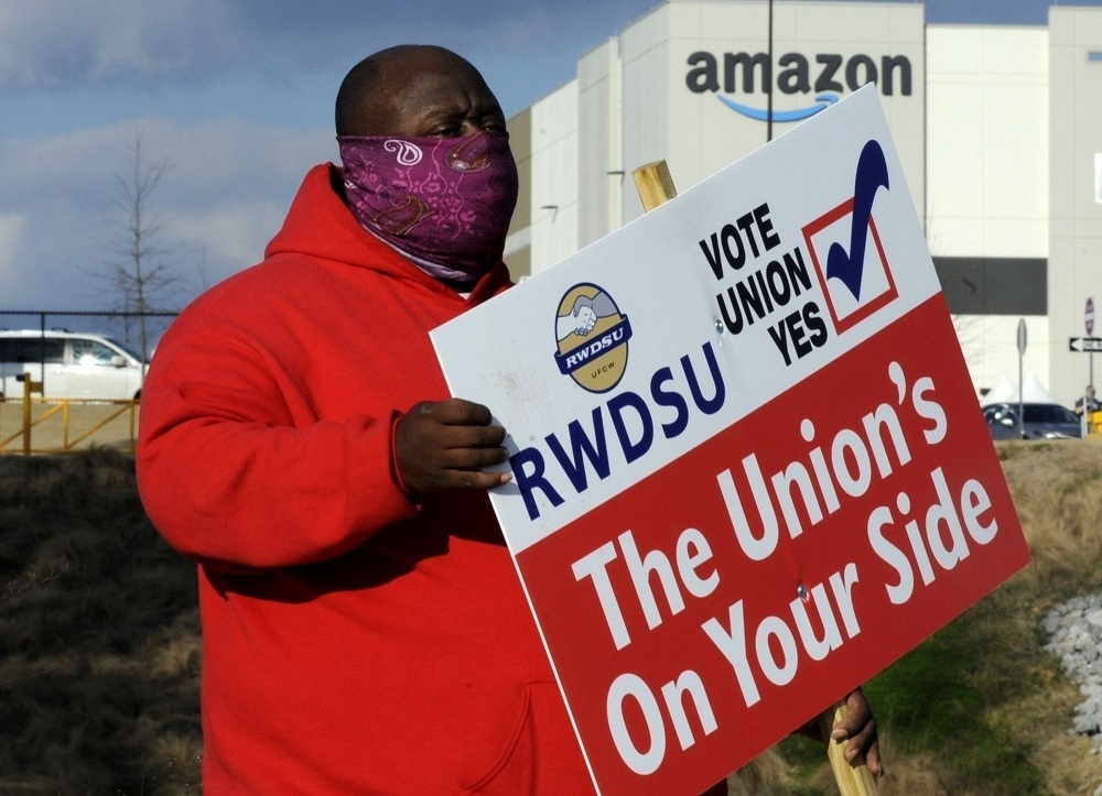 Amazon secured enough votes on Friday to defeat a closely watched unionization drive at its warehouse in Bessemer, Ala.