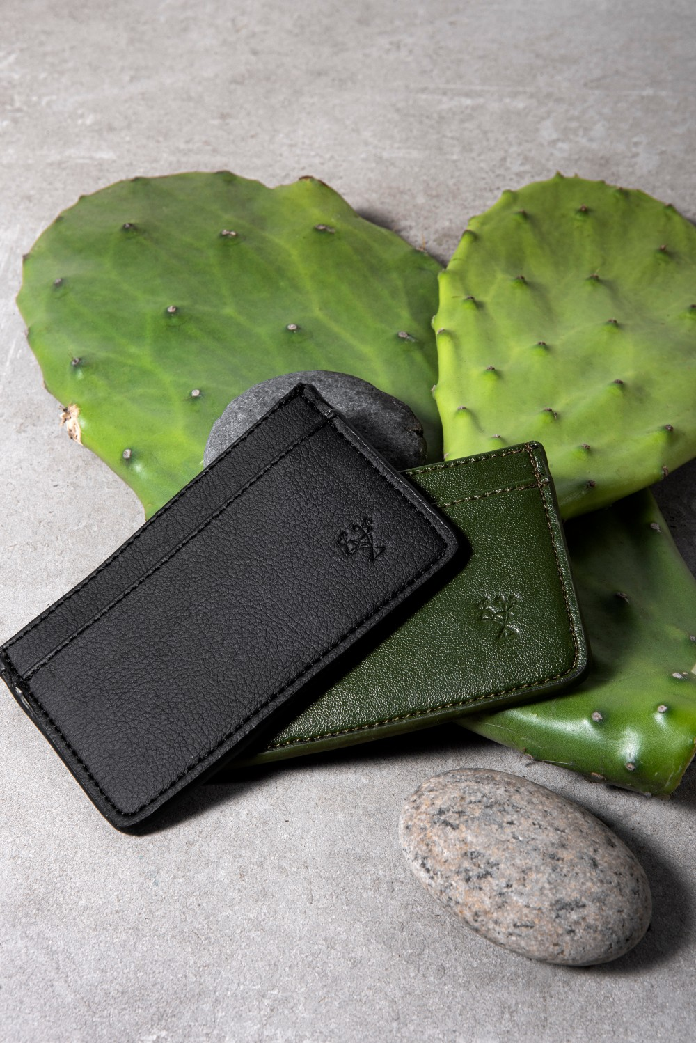 The small leather goods label is attempting to bring greater awareness to its range of cactus leather products.