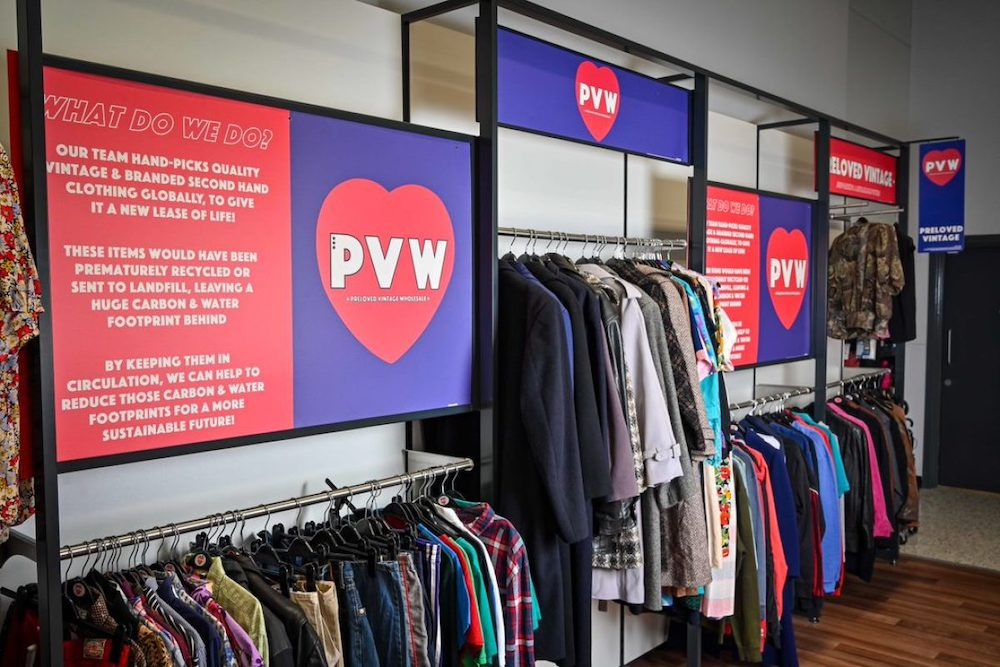 George at Asda launched a new secondhand vintage fashion range in 50 of its stores across the UK after a successful test.
