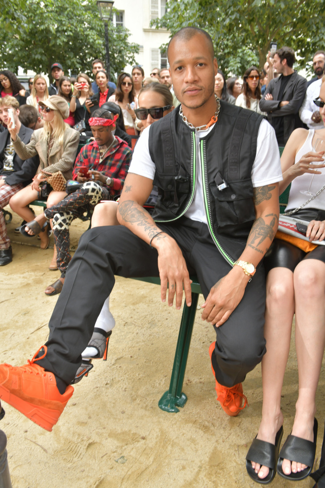 Heron Preston created a collection of sustainably-sourced Calvin Klein staples such as jeans, white T-shirts, sweatshirts and underwear.