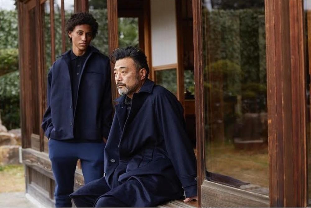 AW21 looks from menswear brand Ikiji, a Showcase Japan exhibitor.