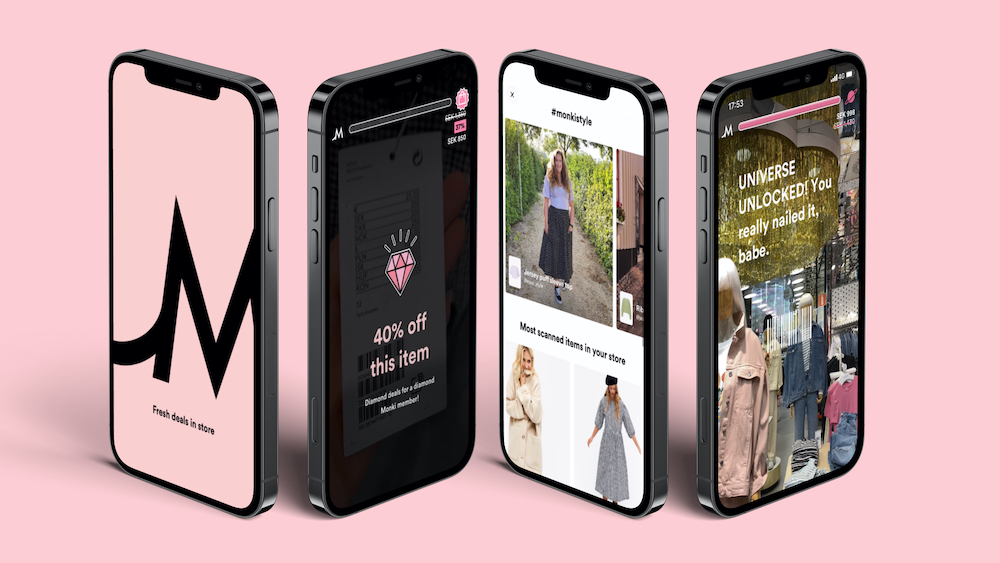 H+M Group-owned Monki unveiled a mobile app providing users with in-store deals, repair services and access to the Monkisphere community.