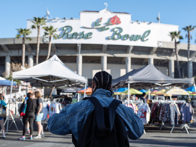 The Rose Bowl Flea Market in Los Angeles resumes its schedule this week after being cancelled for a year due to the coronavirus.