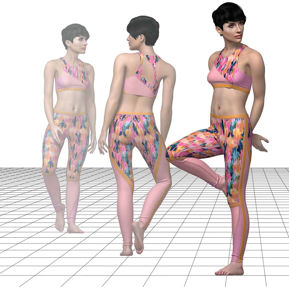 Tukatech's Tuka3D program allows designers to host fit sessions on virtual avatars.