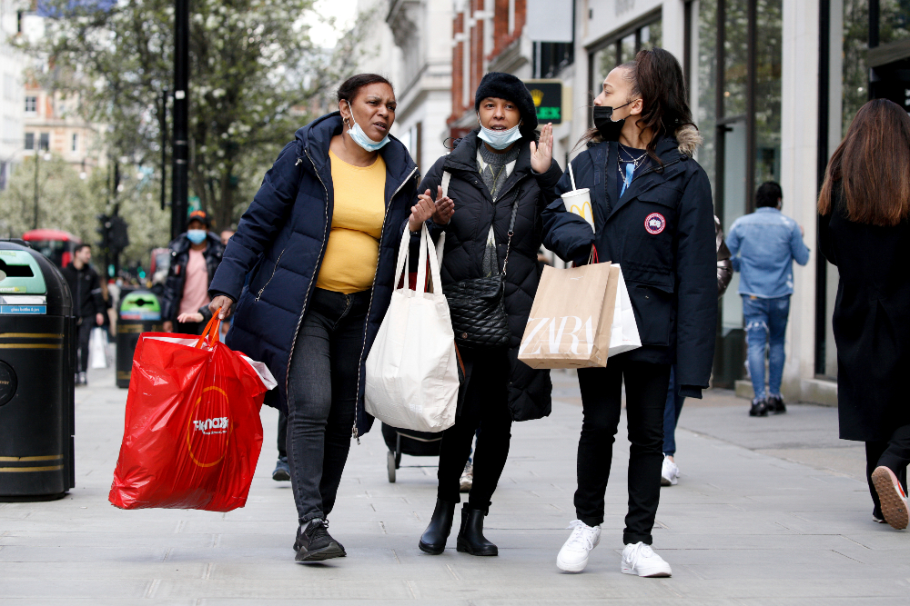 As Britain's fashion retailers get their long-awaited reopening, rising coronavirus cases are forcing new lockdowns around the globe.