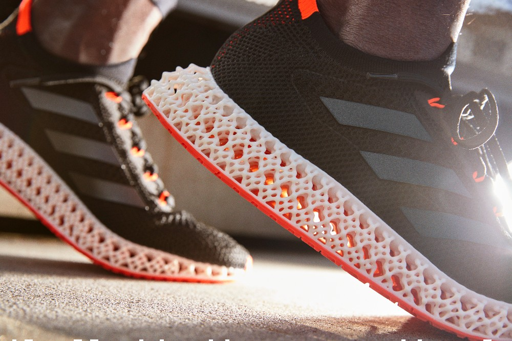 Adidas teamed up with Carbon to design the 4DFWD running sneaker