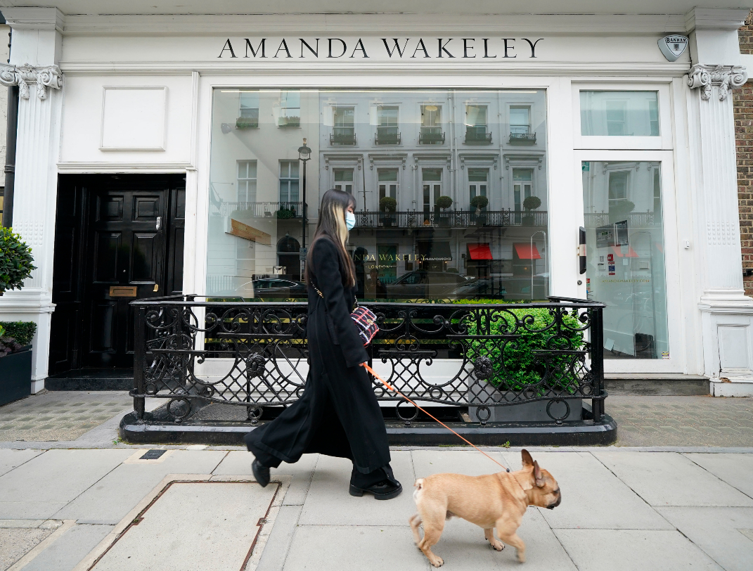 The Beyonce-approved designer occasion wear fashion brand Amanda Wakeley filed for bankruptcy after it was unable to find a buyer.