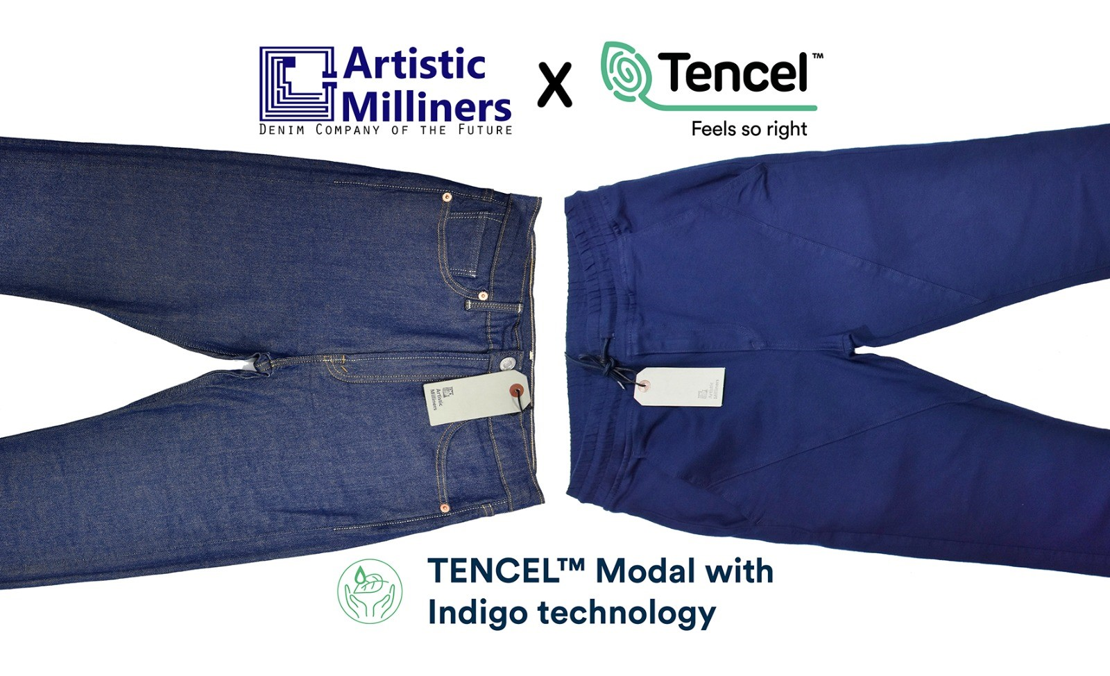 Artistic Milliners Tencel Modal with Indigo Color Technology