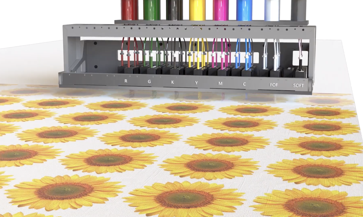 Asos and supplier Fashion-Enter Ltd. are implementing the Kornit Presto digital direct-to-fabric printer to offer on-demand printing.