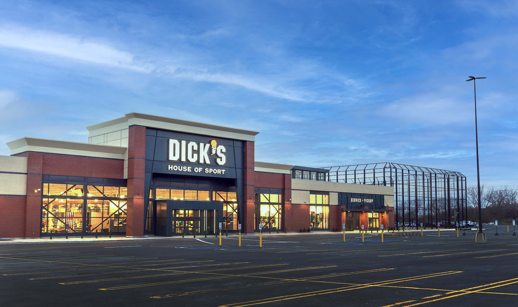 Dick's Sporting Goods House of Sport in Rochester, N.Y.