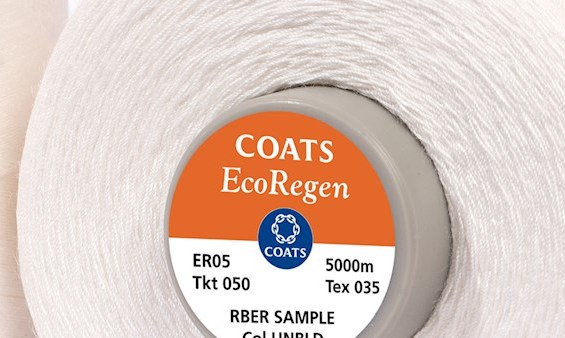 U.K. threadmanufacturer Coats debuts EcoRegen, a biodegradable thread range, and teases other circular trims that will soon be launched.