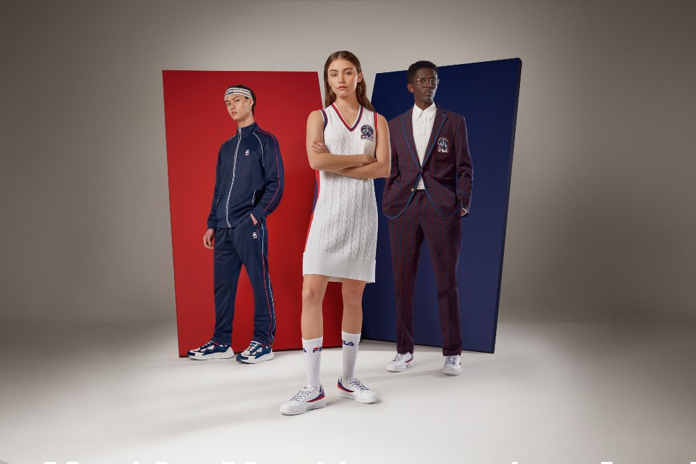 The Brooks Brothers x Fila collection includes performance and lifestyle apparel options