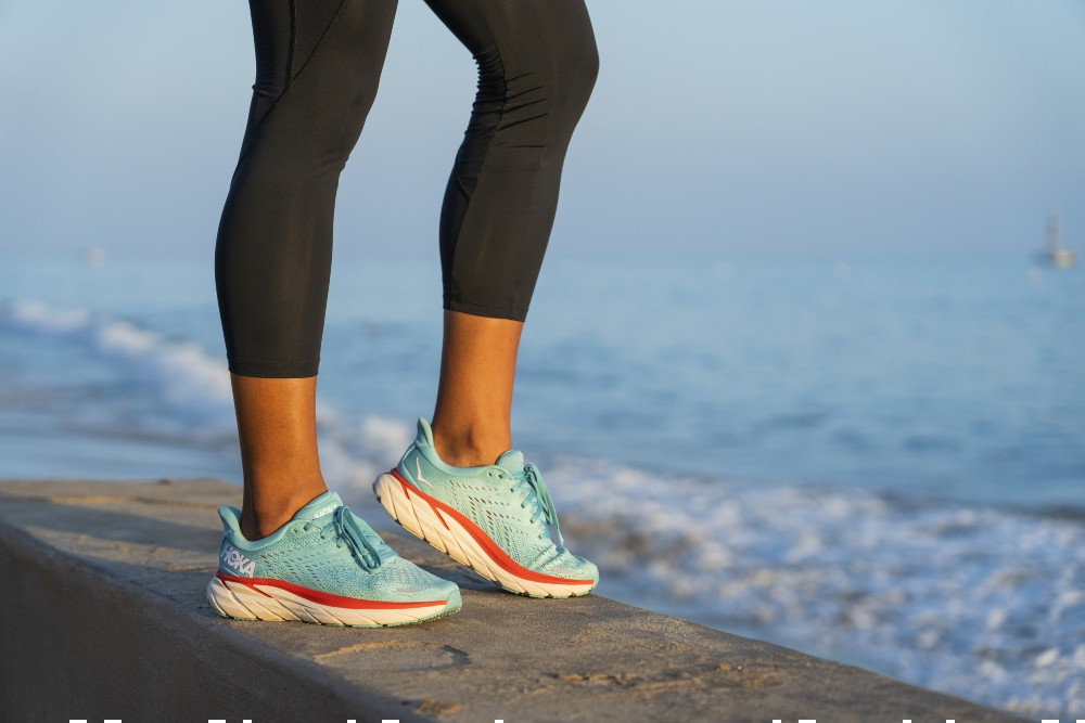 Hoka One One will release the Clifton 8 running shoe June 1