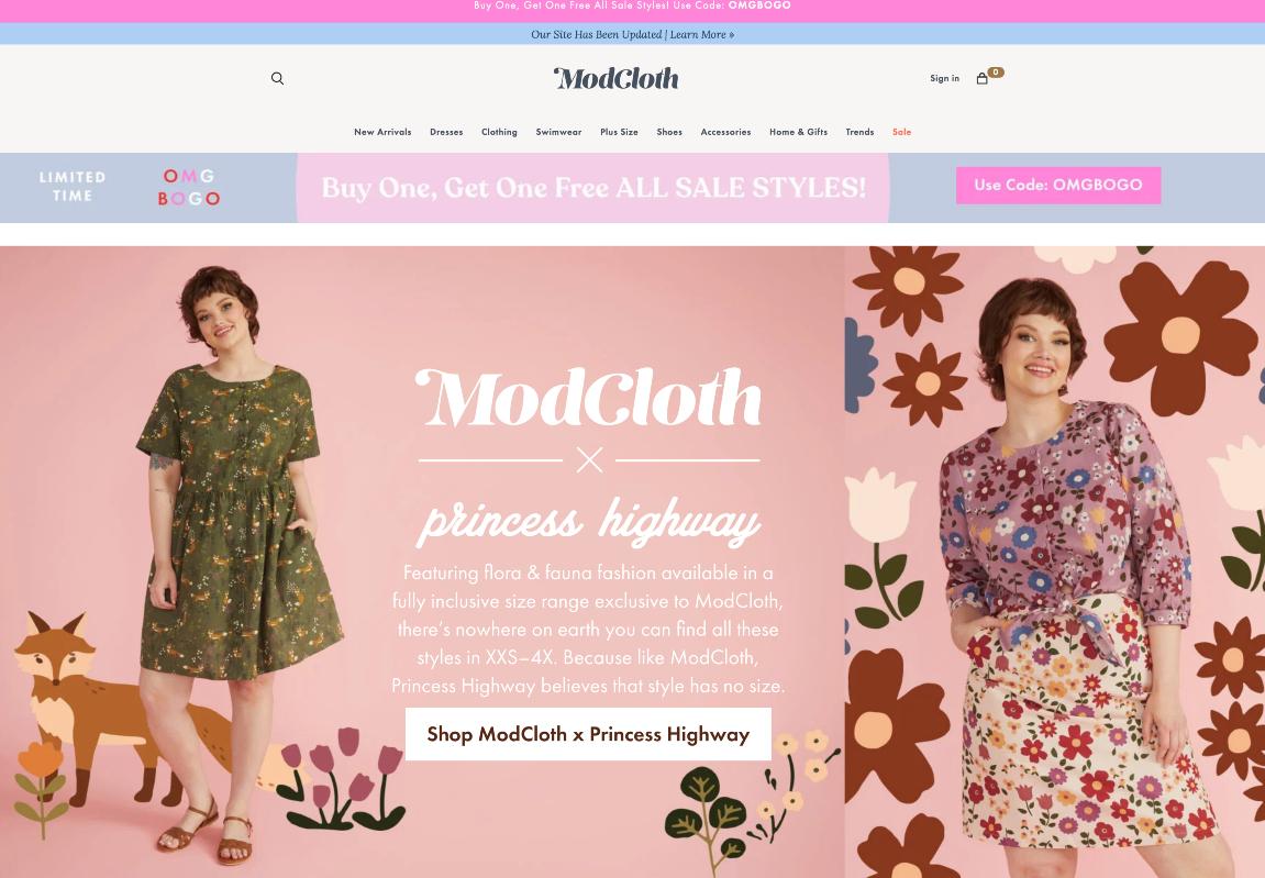Nogin says its intelligence commerce solutions give brands like ModCloth the digital tools need to operate profitably in an online format.