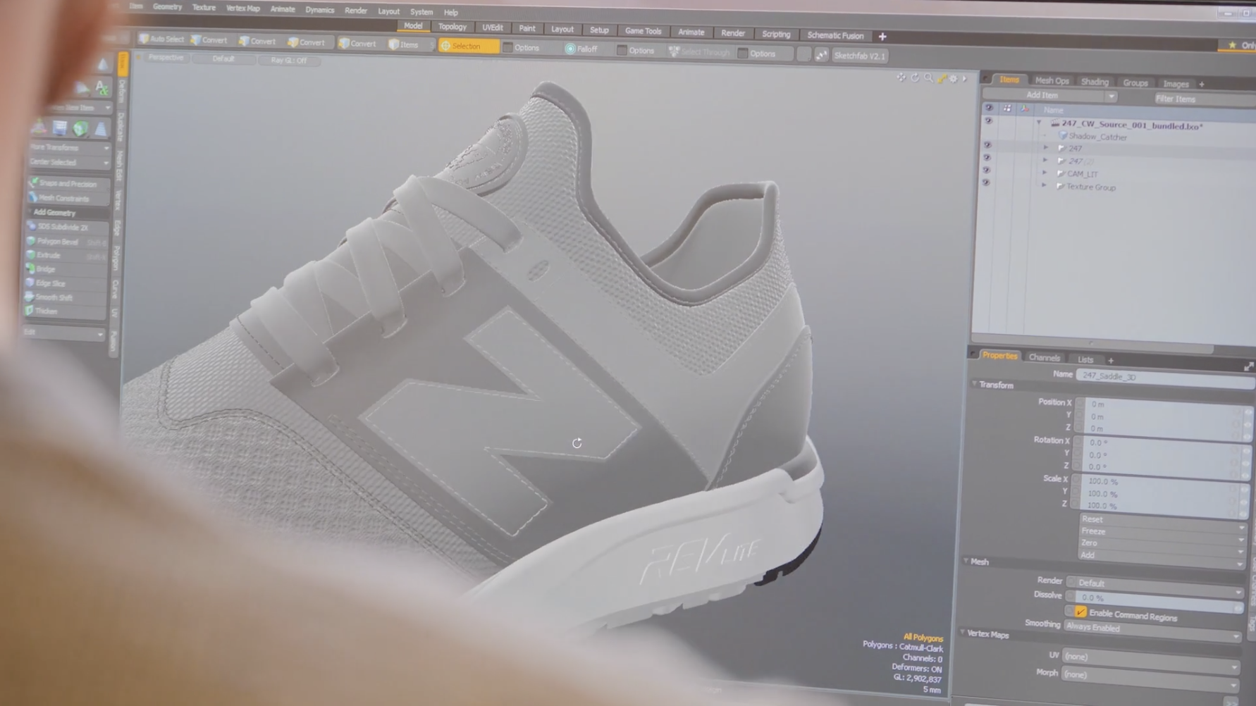 New Balance further embraced digital transformation during the coronavirus pandemic by using 3D and color design tools from Foundry.