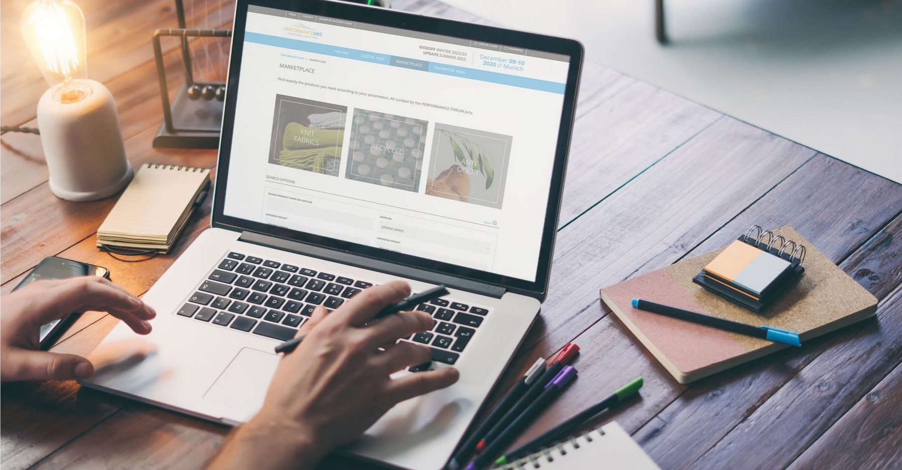The online PERFORMANCE DAYS LOOP, in partnership with Functional Fabric Fair, is enabling designers, product purchasers and material managers to digitally source goods and access the latest trends and innovations in the functional fabric industry 365 days per year.