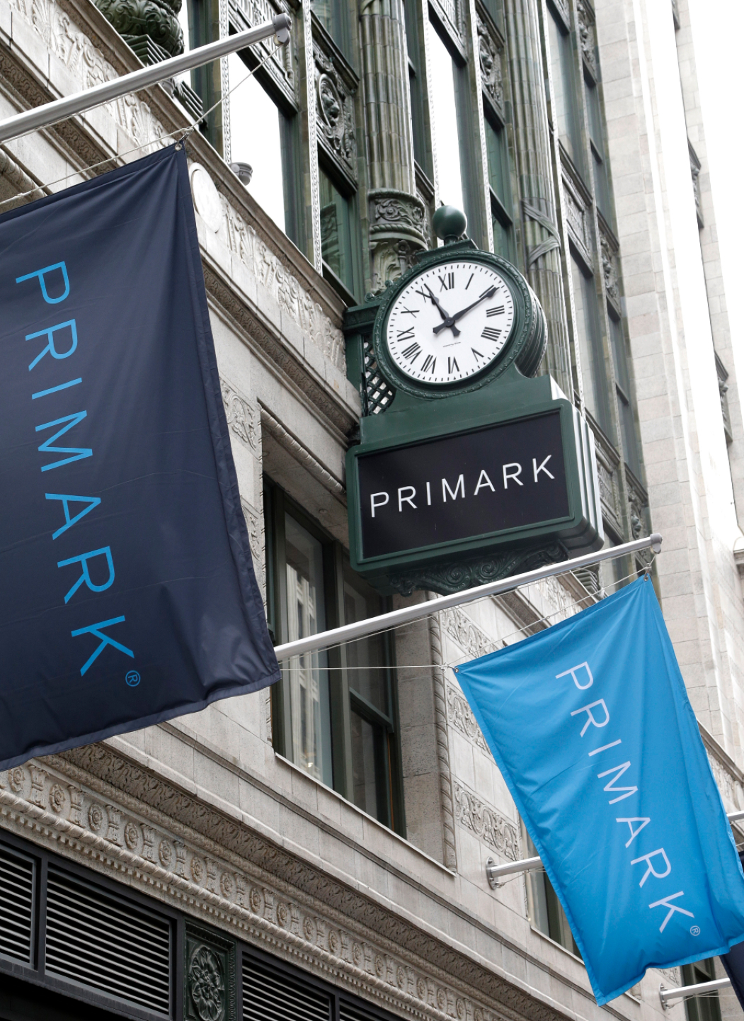 Value chain Primark will add two new stores at Macerich shopping centers in Tysons Corner, Va., and Green Acres Mall on Long Island.