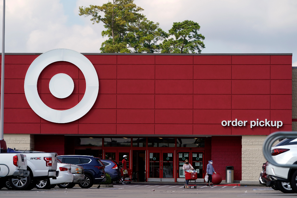 """CEO Brian Cornell credited Target's first-quarter earnings and revenue beats to consumers' """"enthusiastic return"""" to """"in-store shopping."""""""