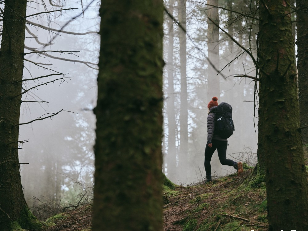 Vivobarefoot introduced its latest hiking boot, the Tracker Forest ESC
