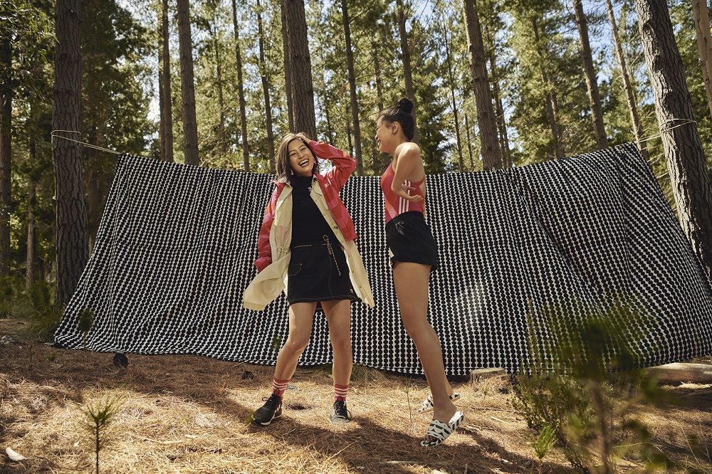 Marimekko and Adidas have collaborated on a collection that blends Marimekko's printmaking and Adidas' expertise in sports performance.