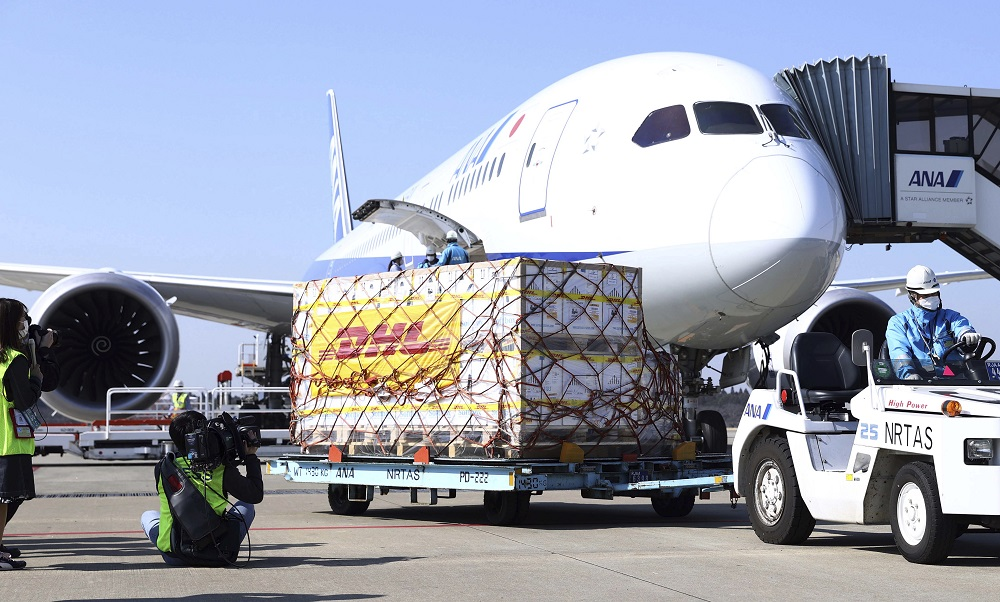 Global air cargo demand continued to outperform pre-Covid levels, with demand up 4.4 percent in March, according to the IATA.
