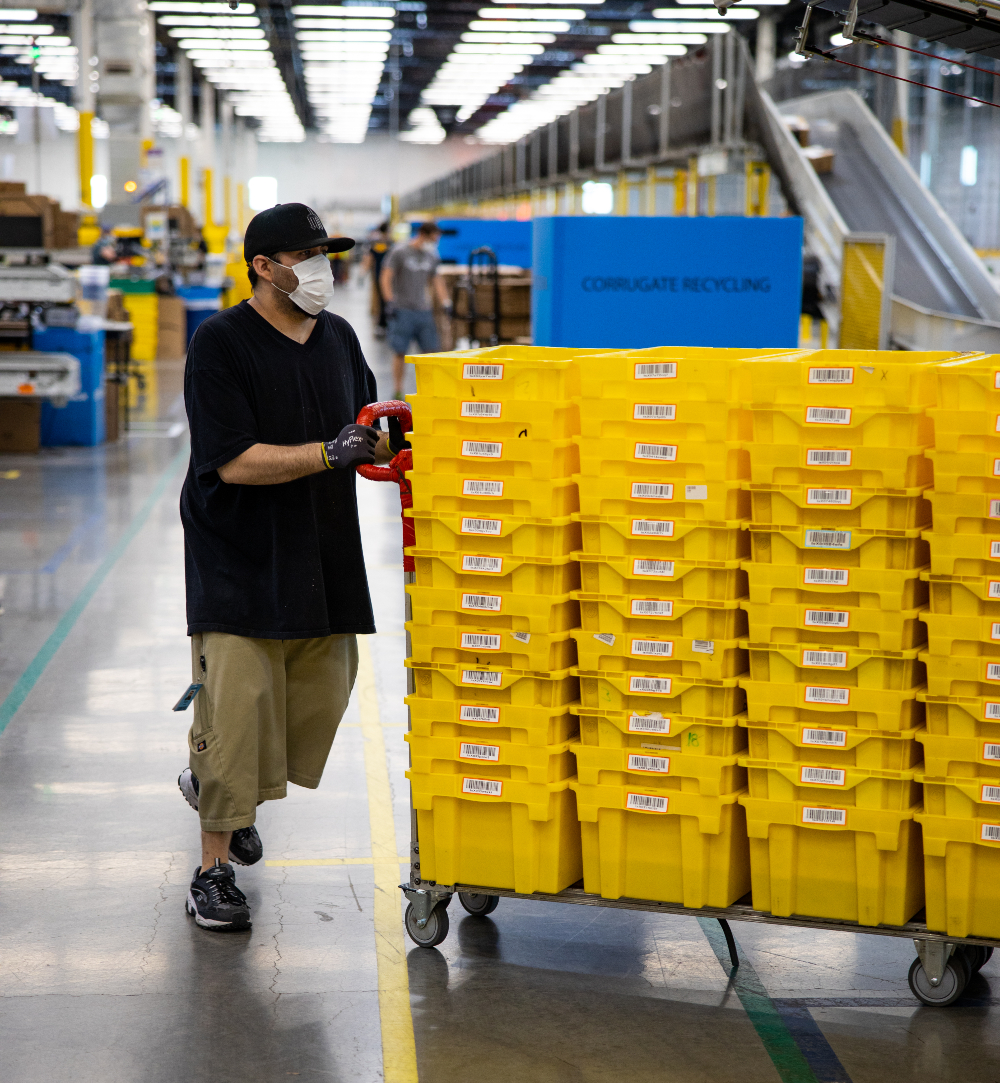 Amazon has been hit with a citation from California's Department of Industrial Relations due to violations of the state's labor code.