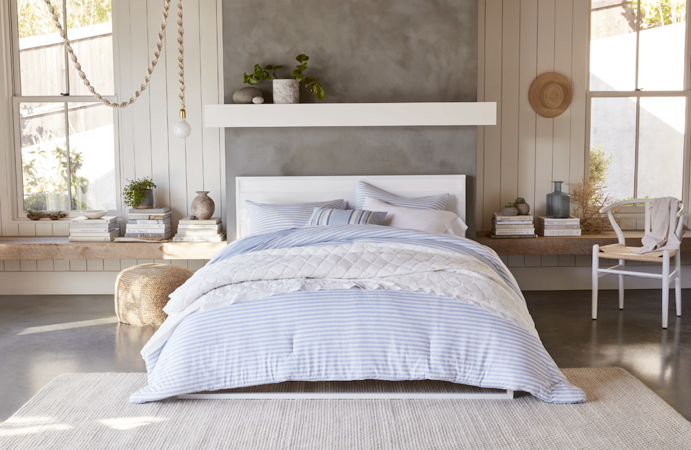 Gap is launching a home collection exclusively with Walmart beginning June 24, with a heavy emphasis on upcycled denim.