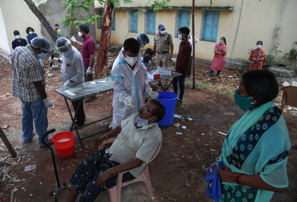 """Labor advocates are appealing to brands and governments to """"step up"""" as India continues to be overwhelmed by a wave of coronavirus deaths."""