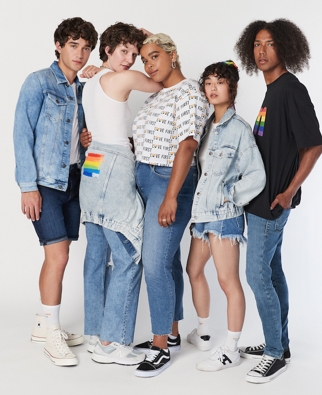 Pride is becoming an important month on the calendar for apparel brands that want to express their inclusive values through fashion.