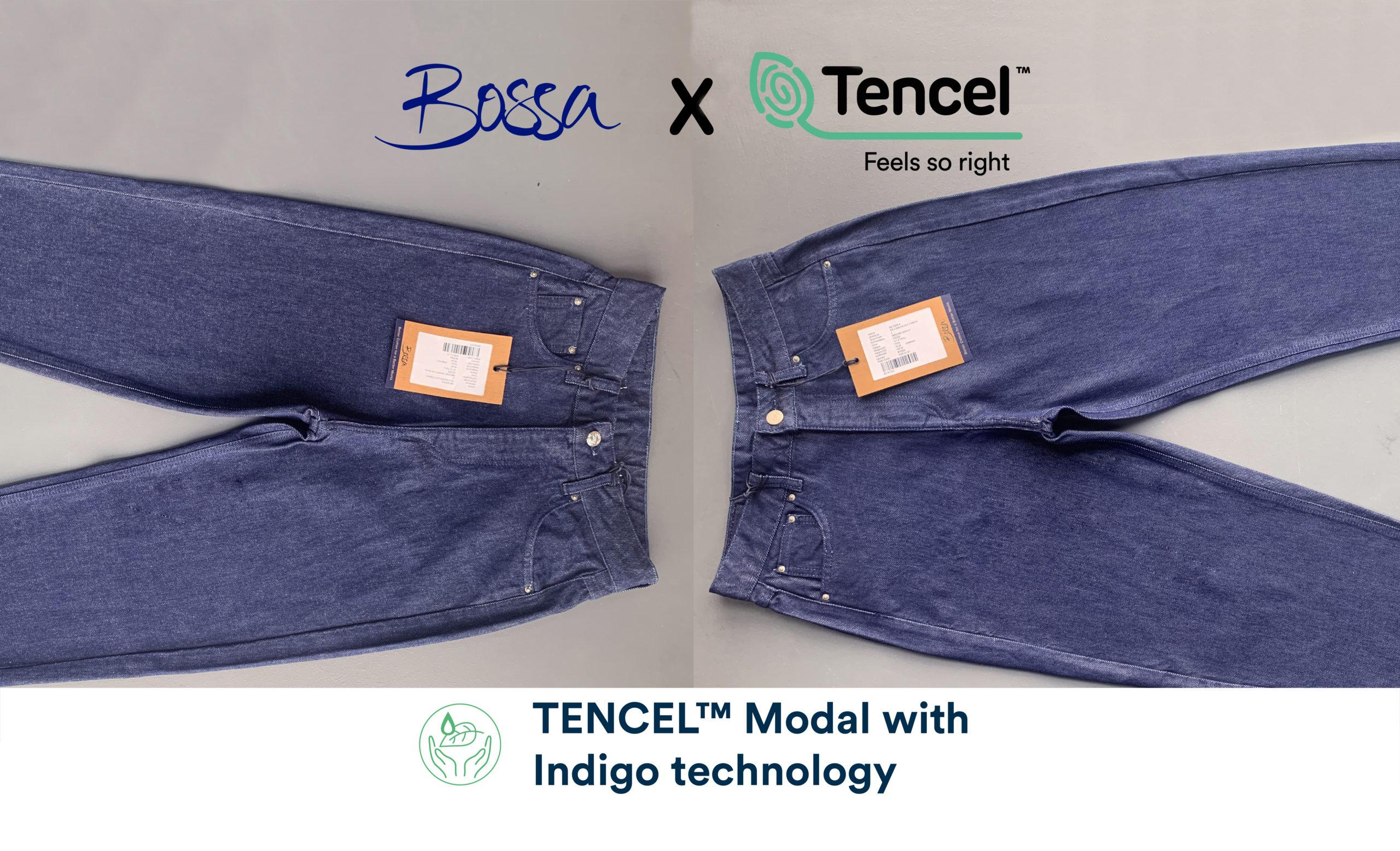 Tencel Modal with Indigo Color technology Bossa