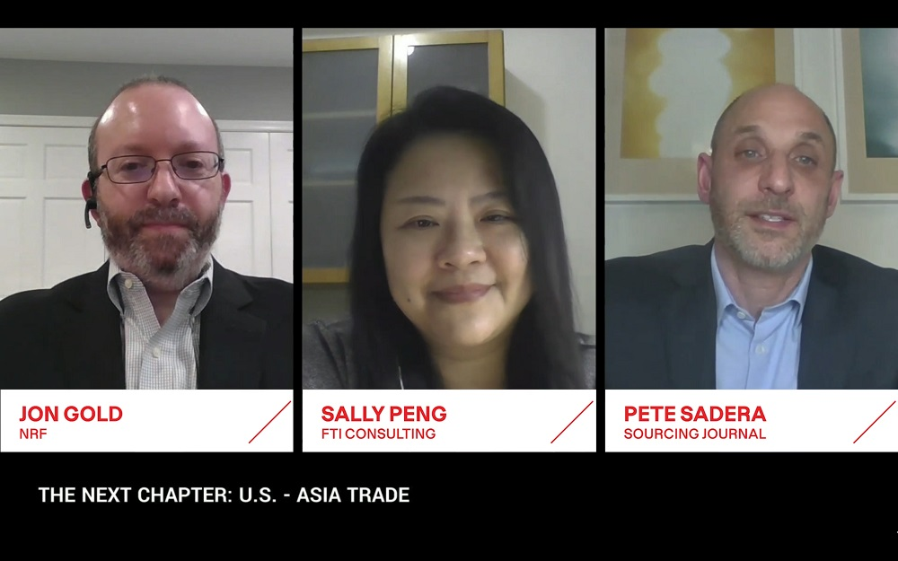 """Issues from forced labor in Chinese cotton and tariffs to CPTPP and TPA were discussed on """"The Next Chapter: U.S.-Asia Trade"""" panel."""