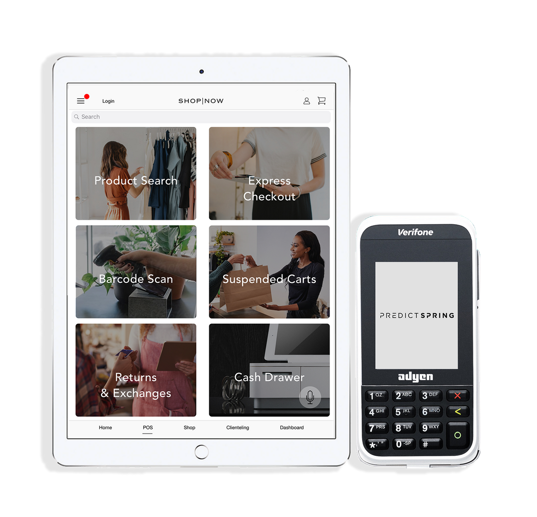 Omnichannel commerce platform PredictSpring has expanded its Adyen partnership to add enhanced payment features to its Modern POS platform.