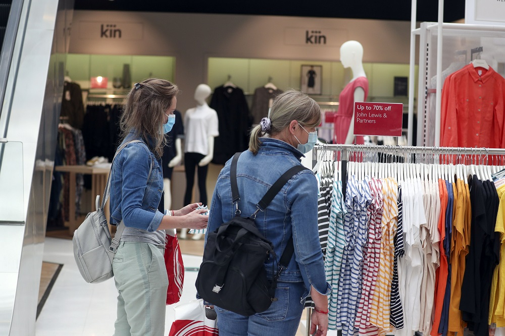 Retail apparel prices rose 0.3 percent in April, after dipping down the previous two months, rhe U.S. Bureau of Labor Statistics reported.