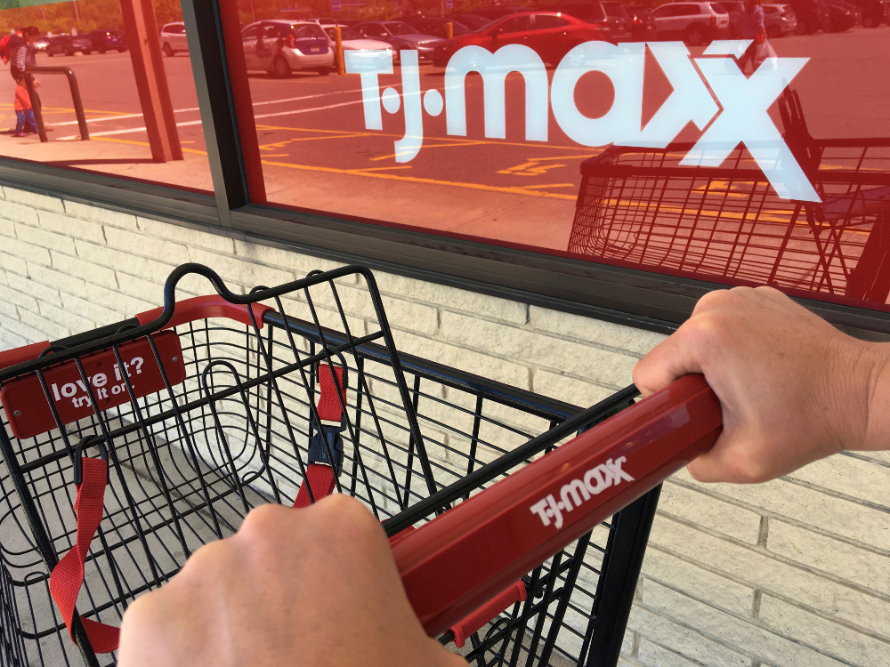 First-quarter sales at off-price retail giant TJX bested Wall Street estimates, with apparel sales picking up while home remained strong.