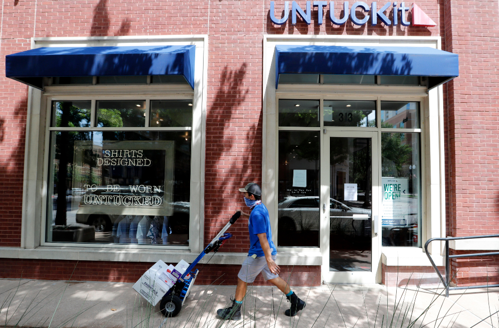 Untuckit will use a $30 million loan from Second Avenue Capital Partners to restructure debt and position itself for pre-pandemic growth.