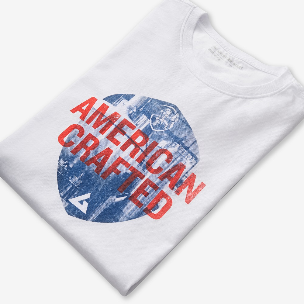 For July 4th, American Giant, the Made in USA apparel company, and Samuel Adams released a limited-edition lager, T-shirt and sweatshirt.