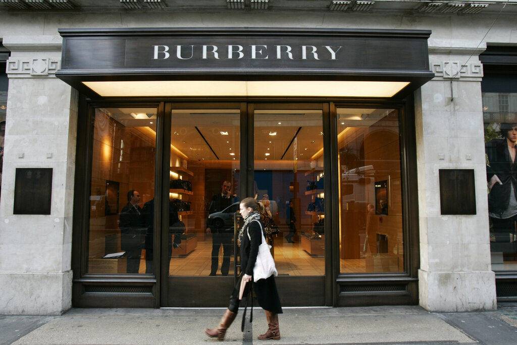 """The British luxury fashion company has a lofty new sustainability goal: to become """"climate positive"""" across its entire operation by 2040."""