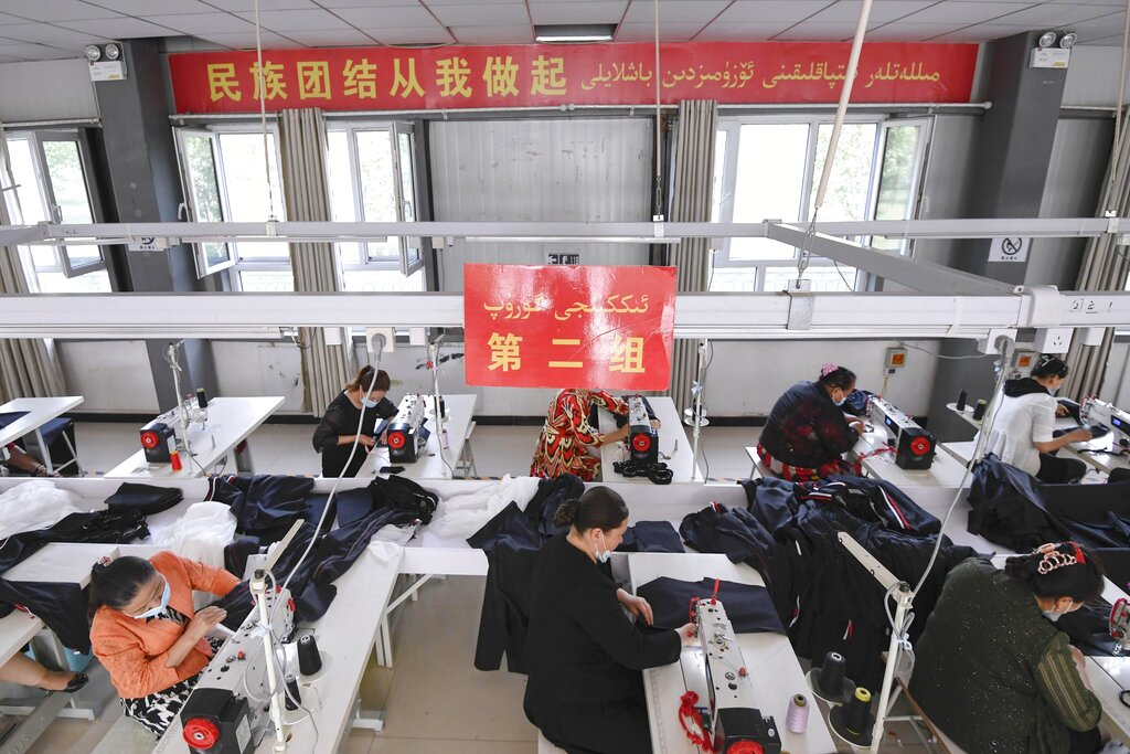 A bill that assumes all imports from Xinjiang are made with forced labor has cleared its first legislative hurdle in the U.S. Senate.