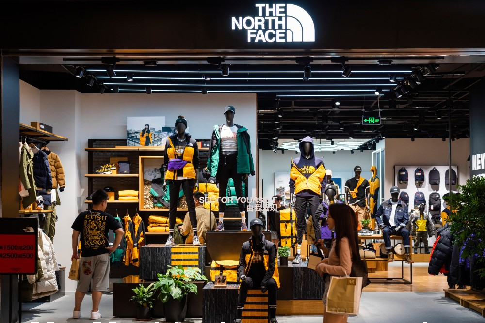 The North Face defended its stance on co-branding after receiving criticism from those in the oil and gas industry