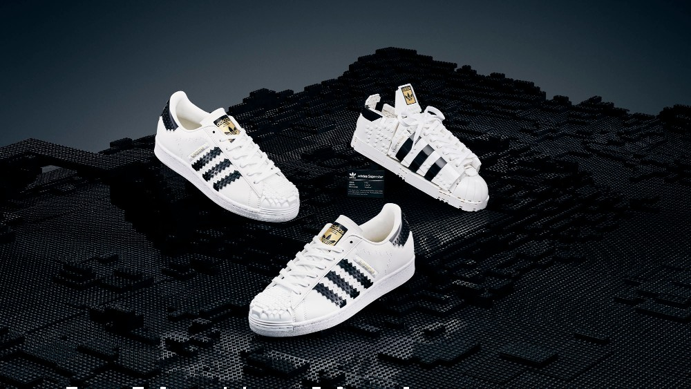 Adidas and Lego teamed up for Lego-themed sneakers and sneaker-themed Legos