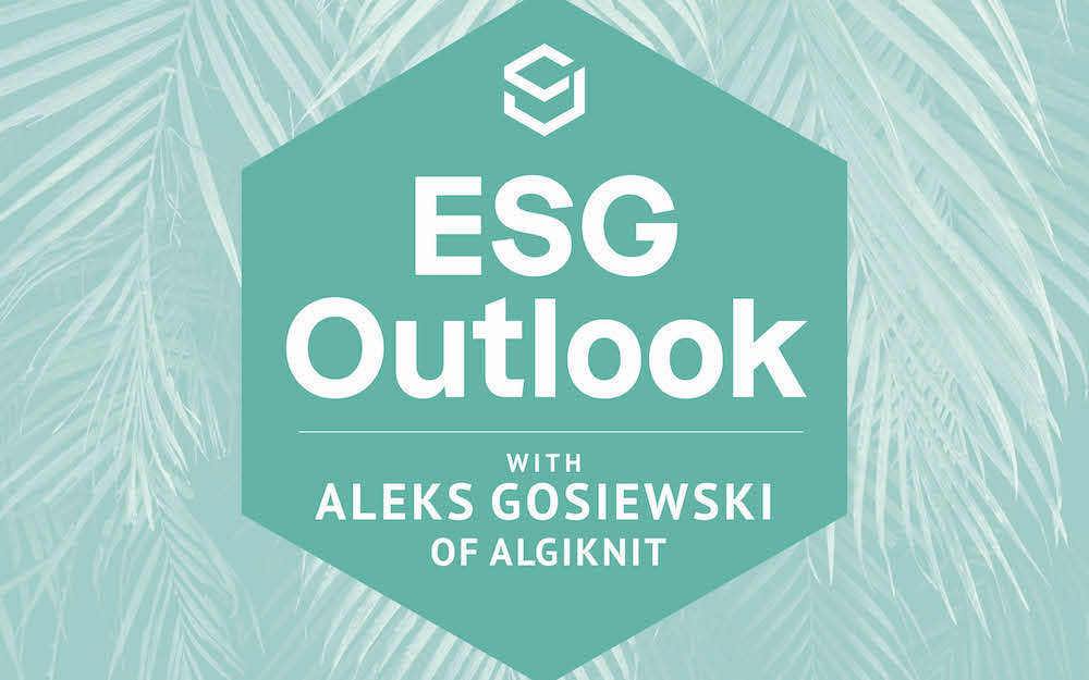 Aleks Gosiewski, co-founder and COO of AlgiKnit, discusses how kelp is emerging as an unlikely savior in the battle against toxic yarns.